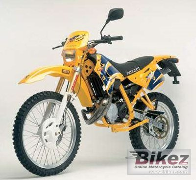 Peugeot XP6 Enduro 50 2008