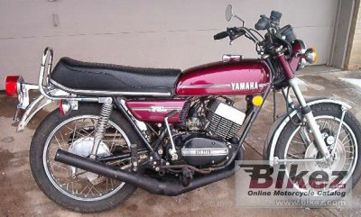 Yamaha RD 350 (6-speed) 1974