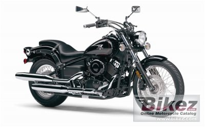 Yamaha V Star Custom 2007