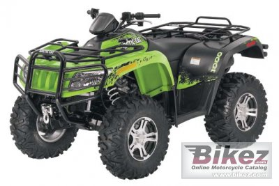 Arctic Cat 1000 LTD 2011
