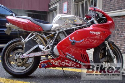 Ducati 750 Supersport 2001