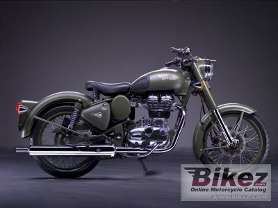 Enfield Bullet C5 Military 2011