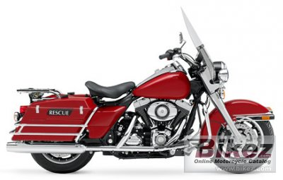 Harley-Davidson FLHP Road King Fire Rescue 2008