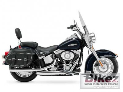 Harley-Davidson FLSTC Heritage Softail Classic Peace Officer 2008