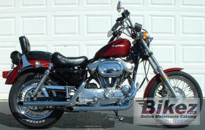 Harley-Davidson XLH Sportster 883 De Luxe (reduced effect) 1988