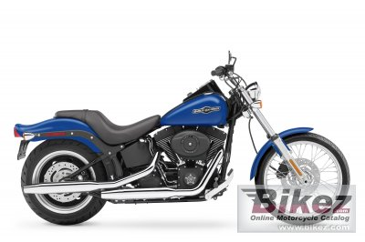 Harley-Davidson  FXSTB  Softail Night Train 2007