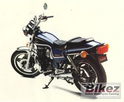 Honda CB 650 RC (reduced effect) 1983