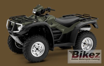 Honda FourTrax Foreman Rubicon 2011