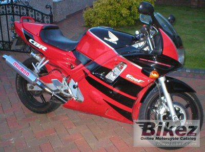 Honda CBR 600 F (reduced effect) 1992