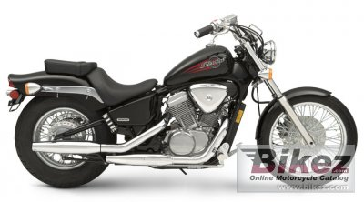 Honda Shadow VLX 2007
