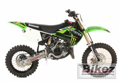 Kawasaki KX 85-I Monster Energy 2012