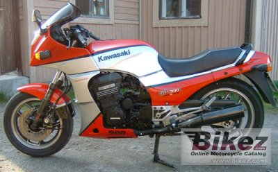 Kawasaki GPZ 900 R (reduced effect) 1984