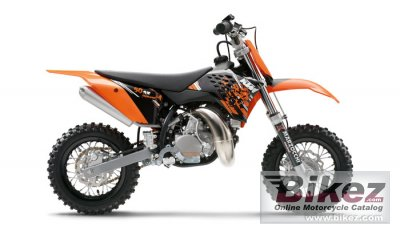 KTM 50 SX Junior 2009