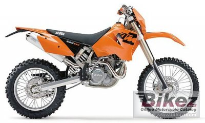 KTM 525 MX Desert Racing 2004