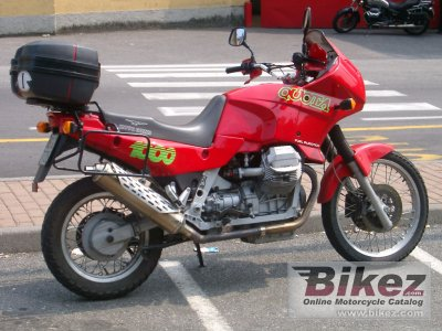 Moto Guzzi 1000 Quota Injection 1992